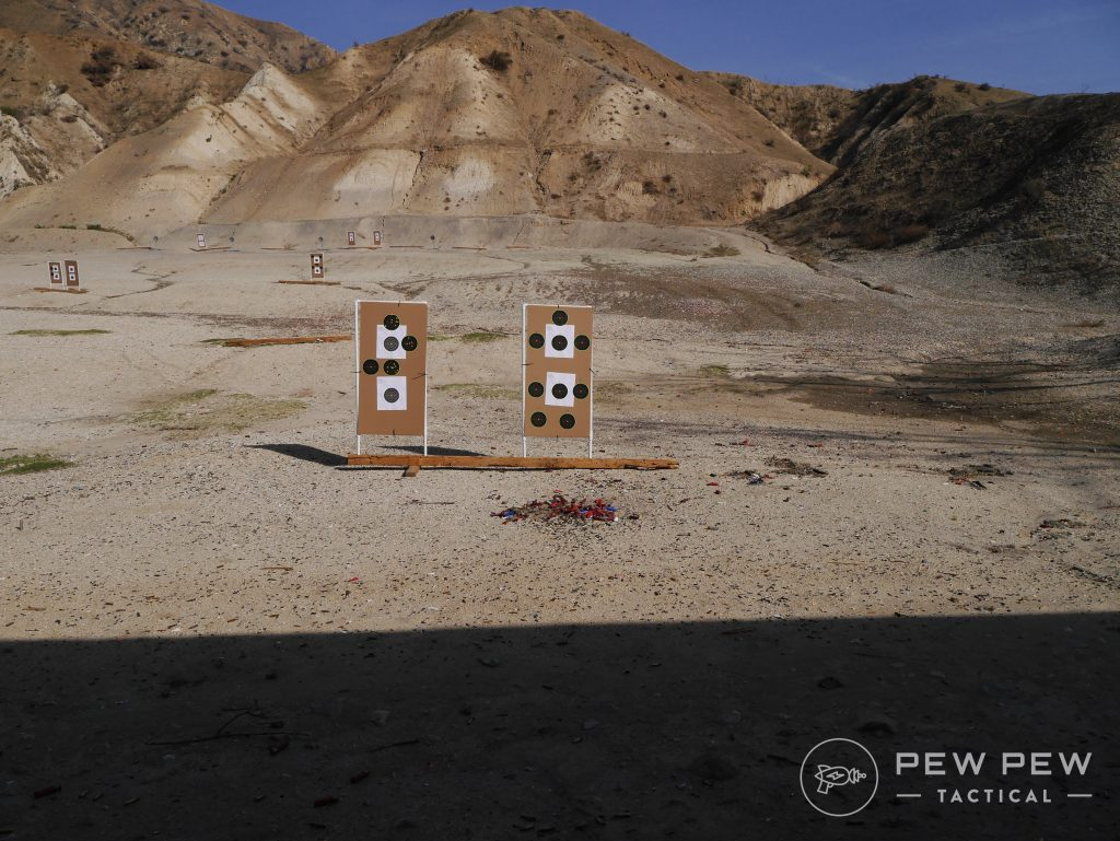 10 Yards Pistol Testing