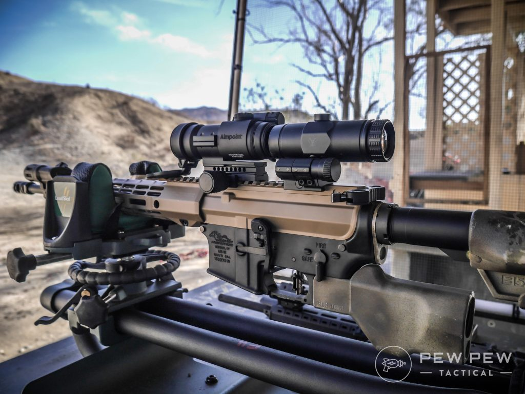 review aimpoint pro patrol rifle optic best red dot pew pew