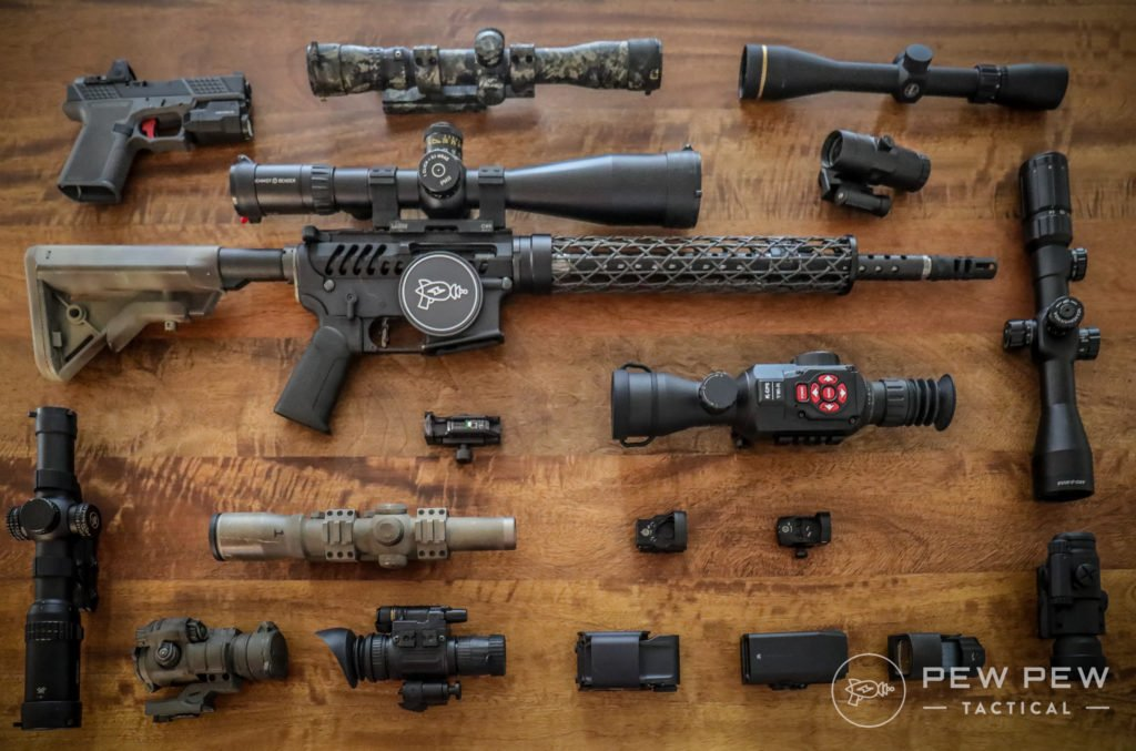 A Couple AR-15 Optics