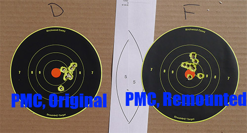 Aimpoint PRO Remounted