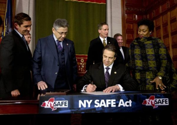 Andrew Cuomo Signs the NY SAFE Act