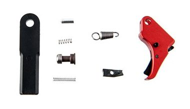Apex Tactical - Red M&P Shield Action Enhancement Trigger Kit