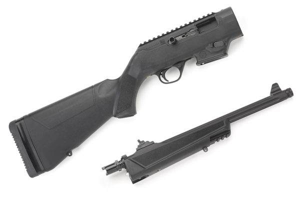 Disassembled Ruger PC Carbine