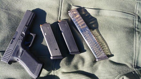 Glock and Magazines