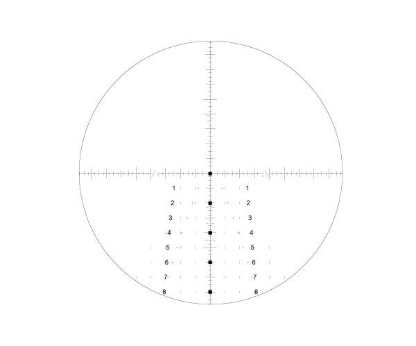 Leupold Mark 8 3.5-25x56 M5B2 Illuminated Front Focal TREMOR2 Reticle