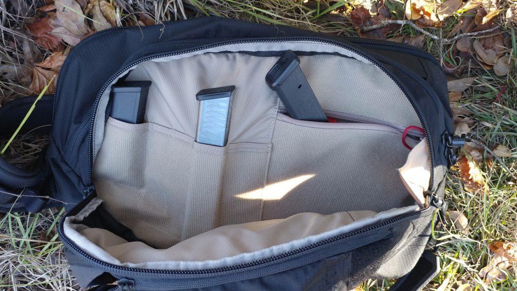 Magazine Pockets in Vertx Commuter Bag