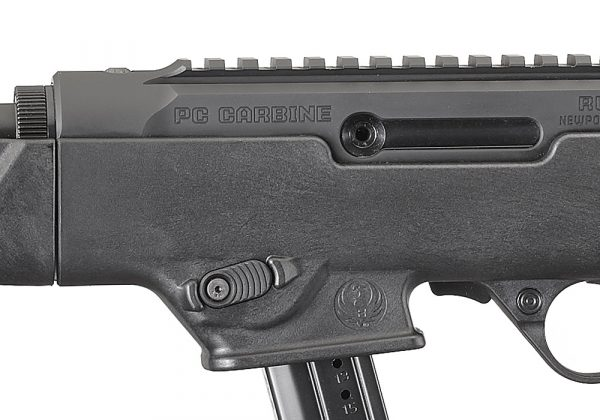 Ruger PC Carbine Reversible Magazine Release and Charging Handle