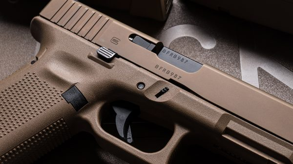 Slide Release on the Glock 19X