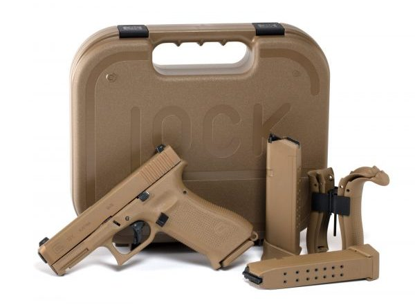 The Glock 19X with the Included Case and Magazines