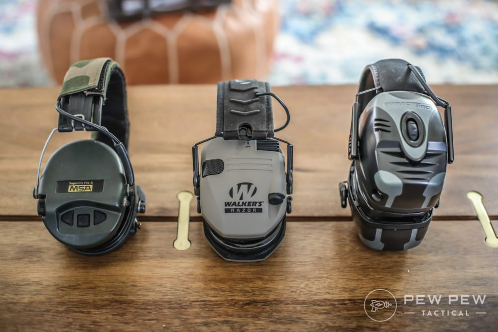 7 Best Shooting Ear Protection [Electronic & Passive ...
