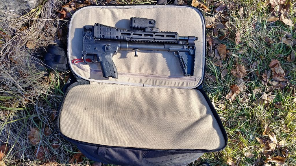 Vertx Commuter Bag and Kel Tec Sub 2000