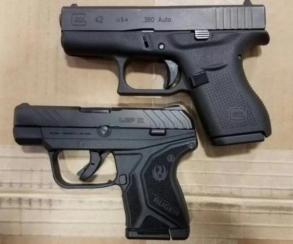 Glock 43 vs LCP 2