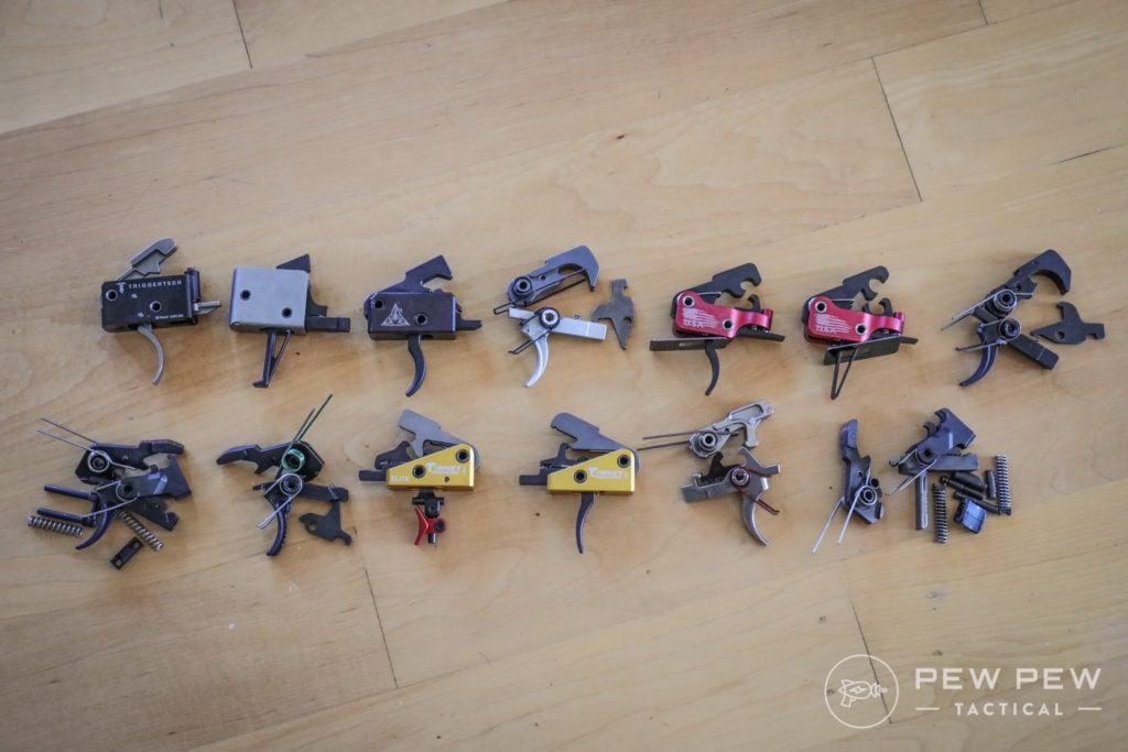 13 Test AR-15 Triggers