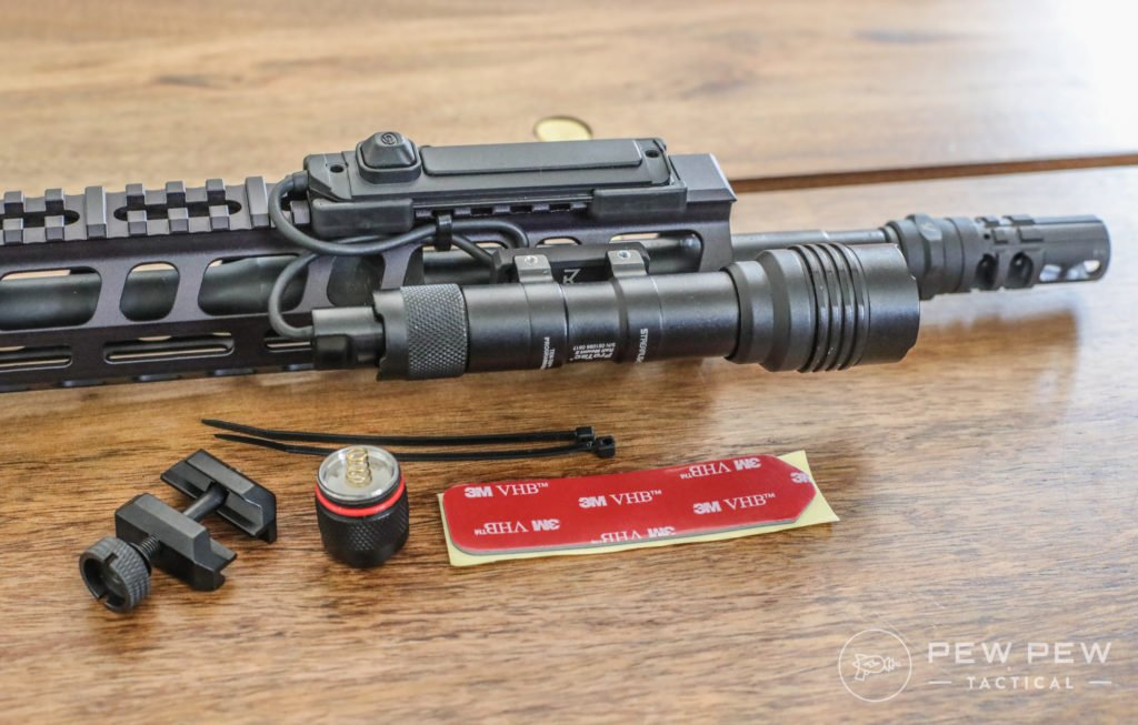 Streamlight ProTac Rail Mount 2 Accessories