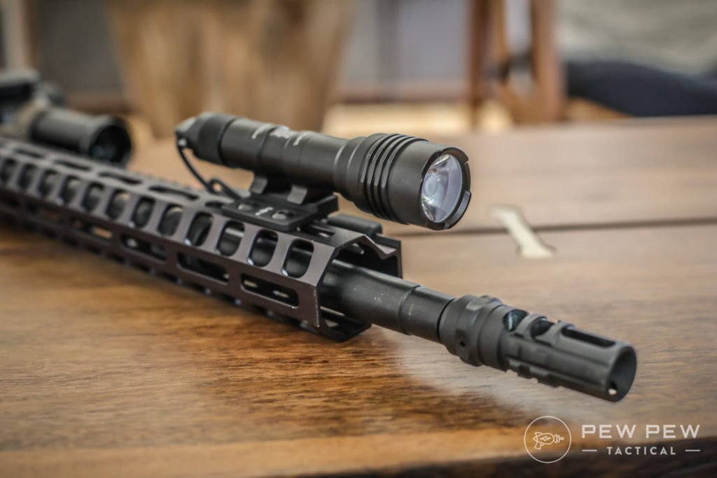 Streamlight ProTac 2, Front