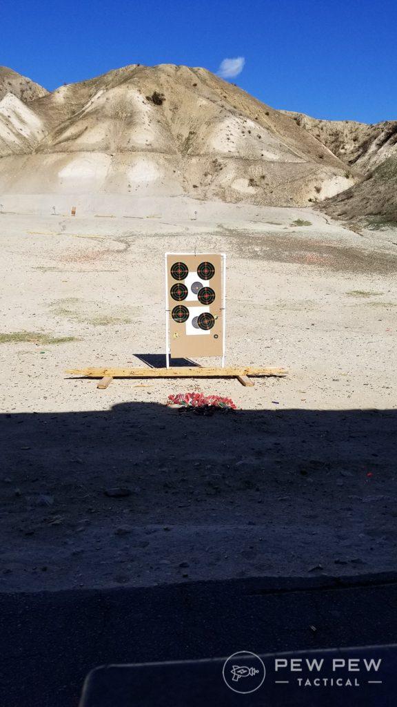 7 Yard Target for CW9 Testing