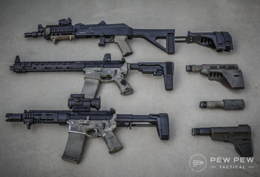 6 Best AR-15 & AK Pistol Braces [2019 Hands-On] - Pew Pew