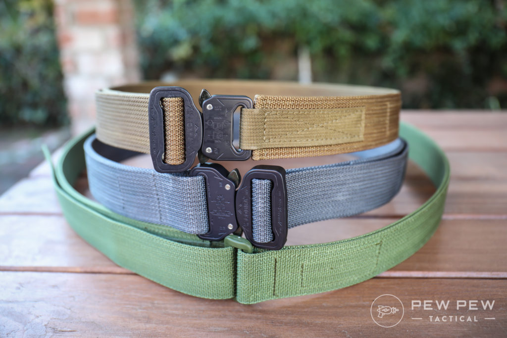 Blue Alpha Gear EDC Belts