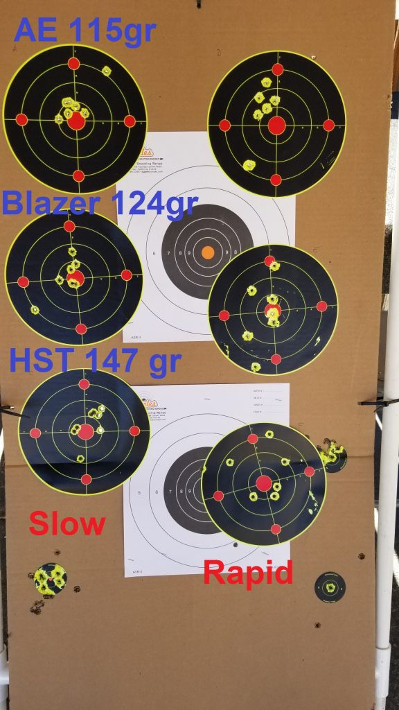 CW9 Shooting Results