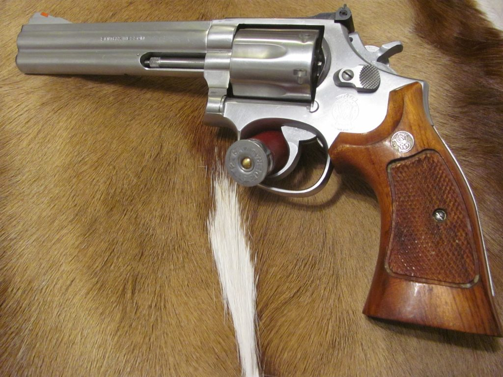 Double Action S&W 686 in .357 Mag