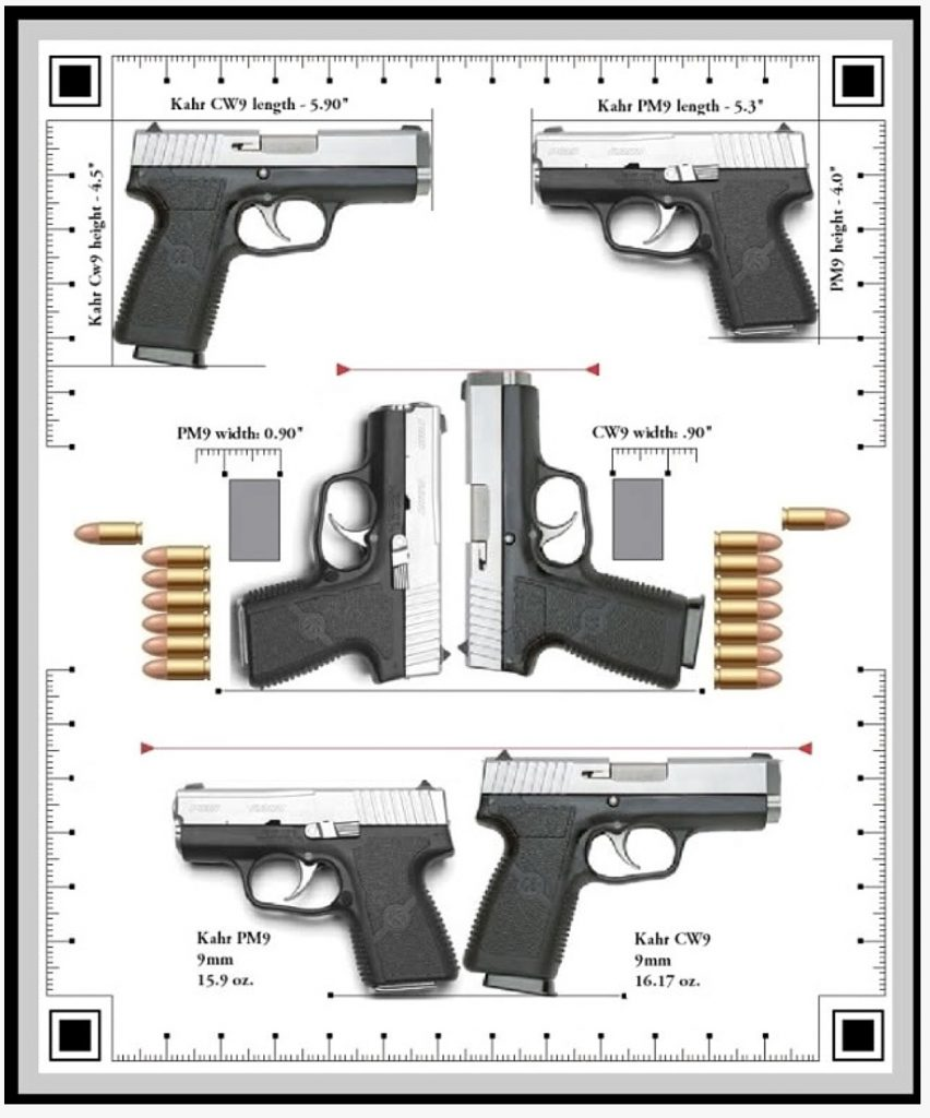 Kahr CW9 vs PM9
