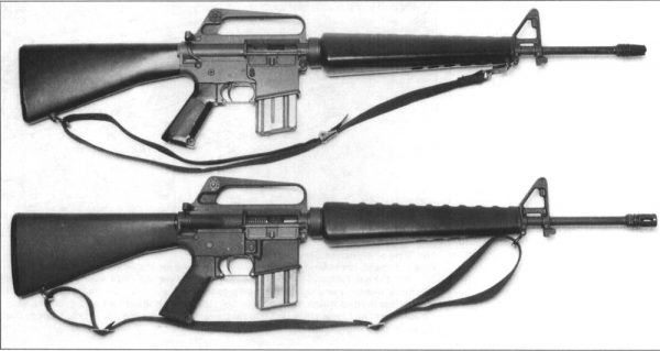 M16 and M16A1