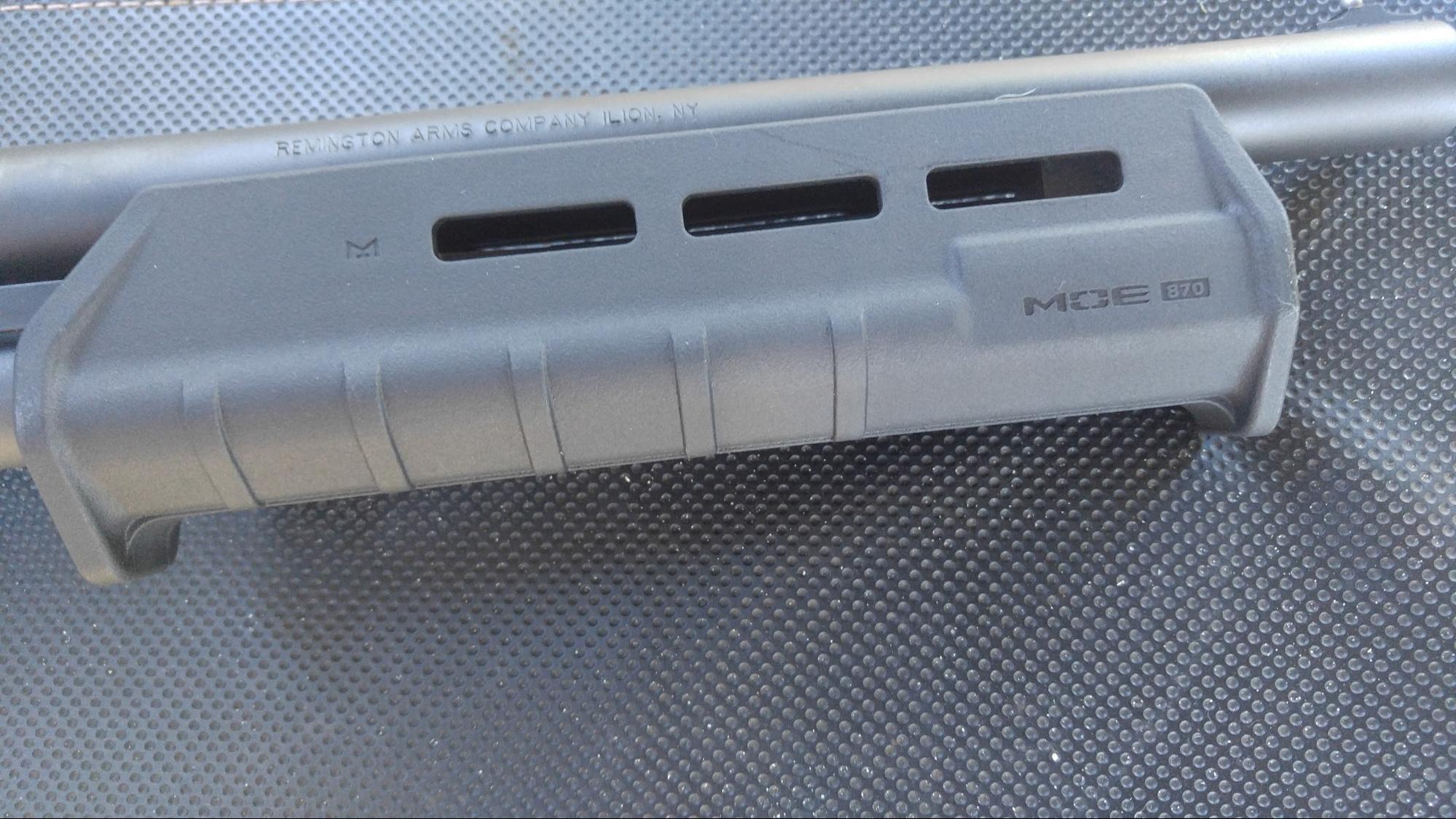 Magpul shotgun slide on Tac-14