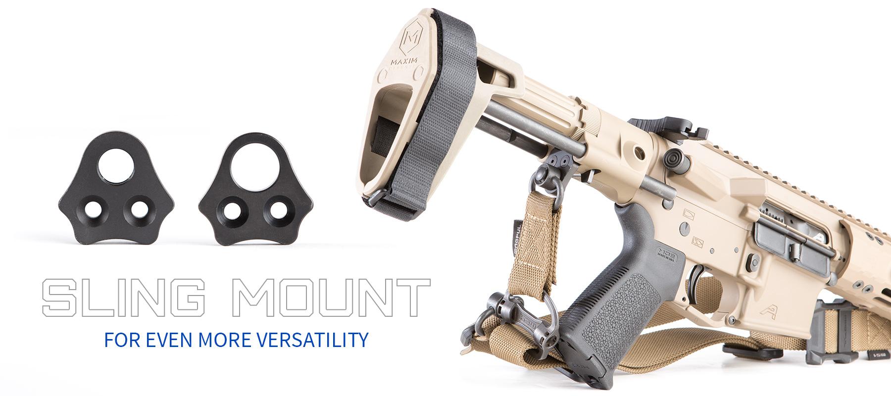 Maxim Defense CQB with sling
