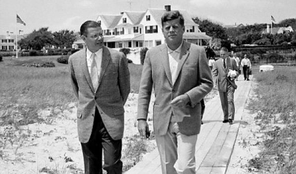 McNamara and JFK