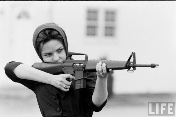 Miss America 1962 with an Original AR-15