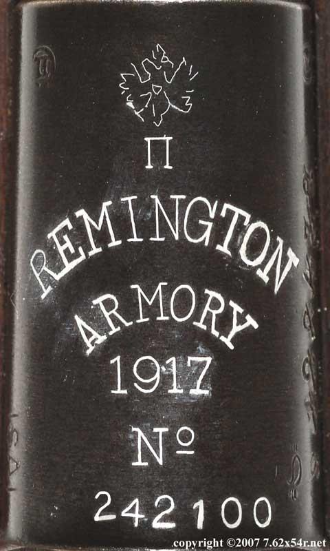 Remington Mosin mark
