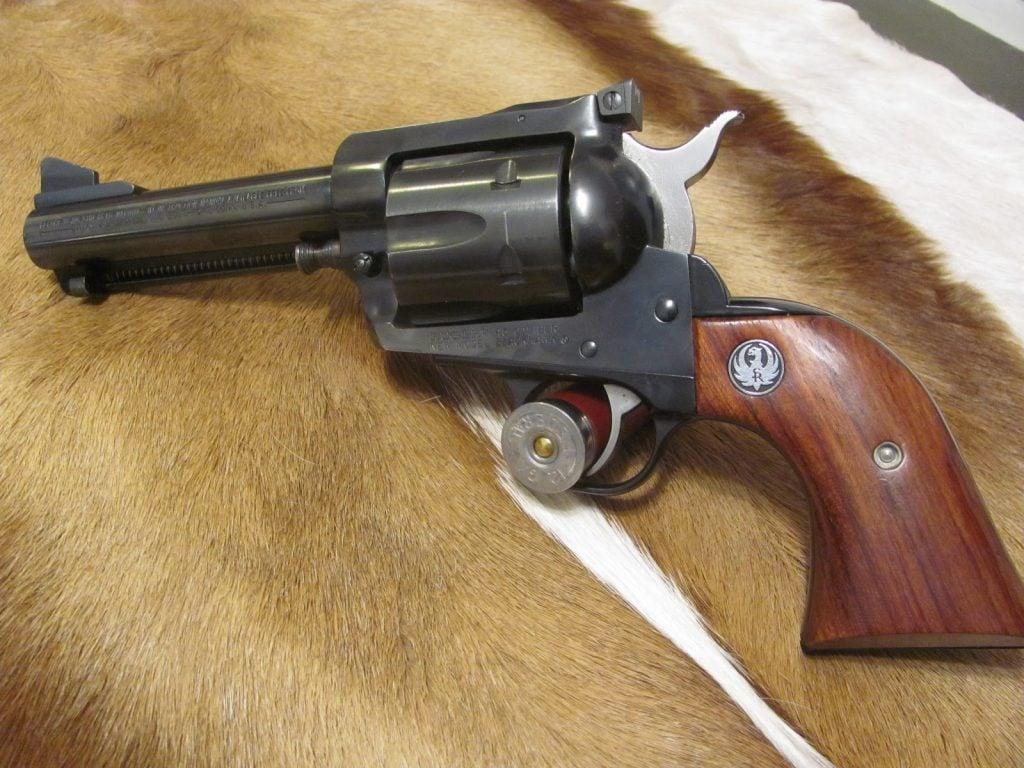 Single Action Ruger Blackhawk in 45 Colt