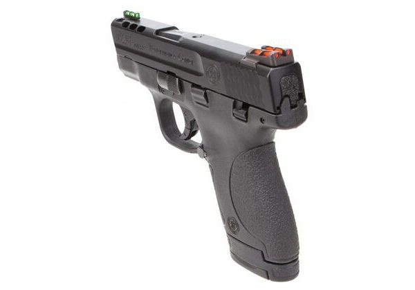 Smith & Wesson Performance Center Ported M&P9 Shield Grip and Sights