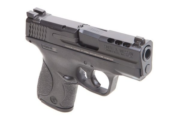 Smith & Wesson Performance Center Ported M&P9 Shield Slide Reverse View
