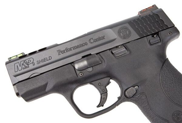 Smith & Wesson Performance Center Ported M&P9 Shield Slide and Trigger