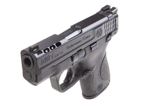 Smith & Wesson Performance Center Ported M&P9 Shield Slide and Sights