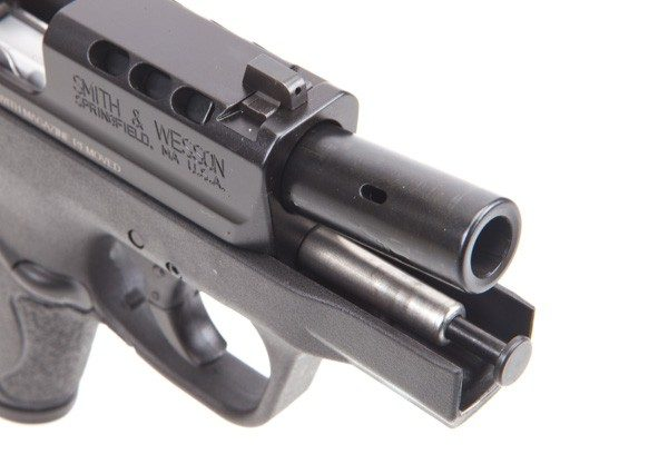 Smith & Wesson Performance Center Ported M&P9 Shield with Slide Back