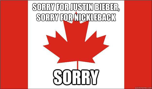 canada sorry