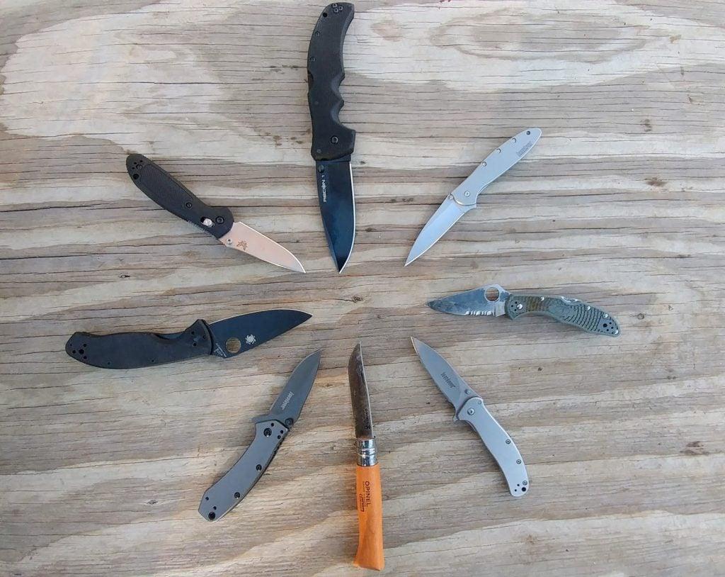 Drop Point EDC Pocket Knife