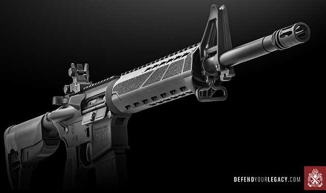 Springfield Armory Saint defend your legacy