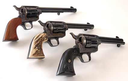 All Three Generations of Colt SAA