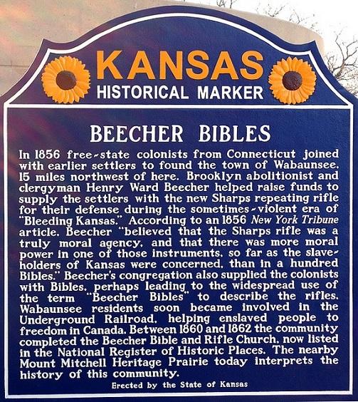 Breecher's Bibles Historical Marker