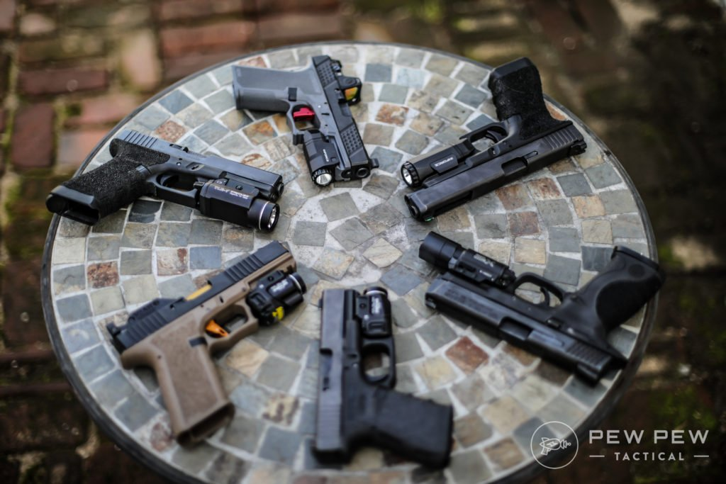 Bunch of Pistols and Lights