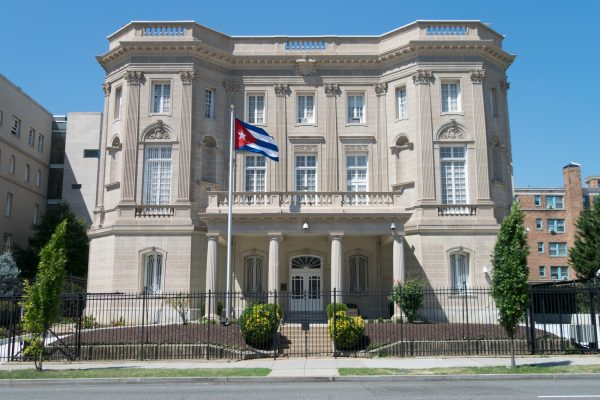 Cuban Embassy in Washington, DC