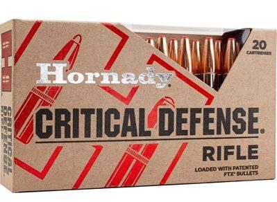 Hornady Critical Defense 55gr FTX .223