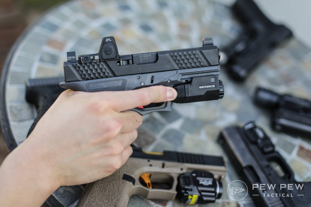 Inforce APLc on P80 Glock 19