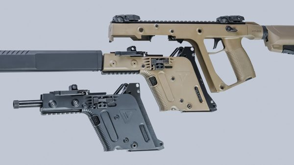 KRISS Vector Caliber Interchangeability