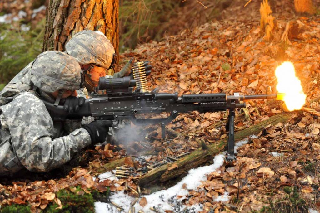 The M240B, Bipod Required. Image Source: Military.com