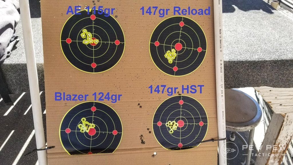 Stag Arms 9mm Results
