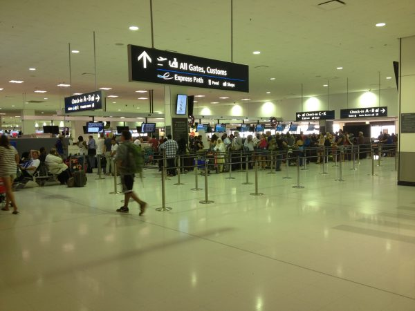 Sydney Airport International Terminal Check In